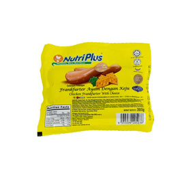 NutriPlus Chicken Frankfurter Cheese