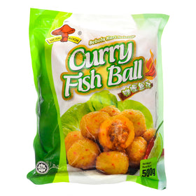 Mushroom's Curry Fish Ball