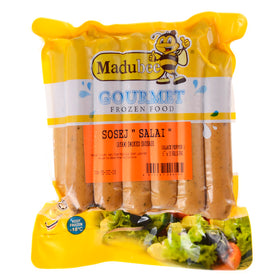 Madubee Black Pepper Sausage 6""