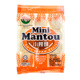 Figo Mini Mantou Wholemeal