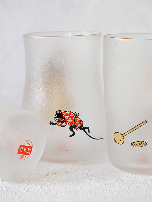 Edo Cats Craft Beer Glasses (Set of 3)