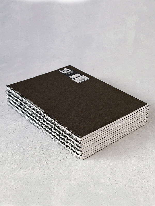 Spiral Notebooks (set of 10) (B5)