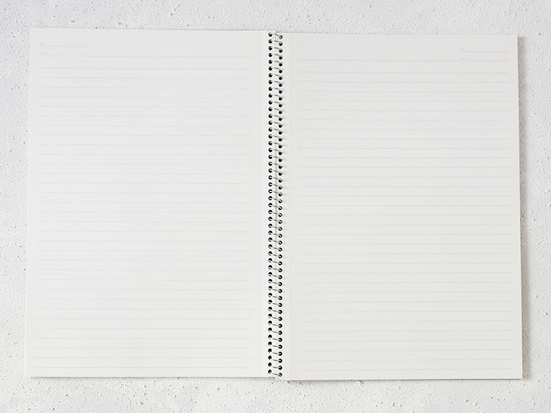 Spiral Notebooks (set of 10) (B5) - WAZA