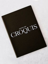 Antique Laid Croquis Sketchbook (A4)