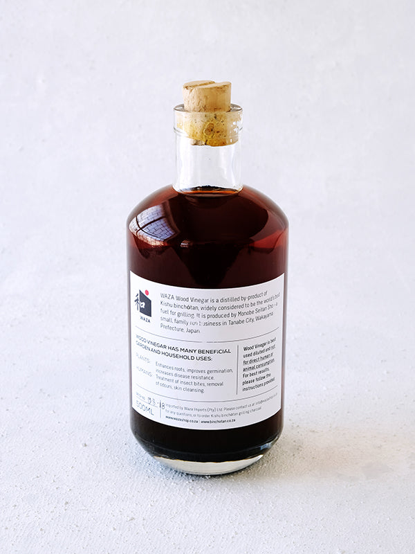Wood Vinegar (500ml) - WAZA