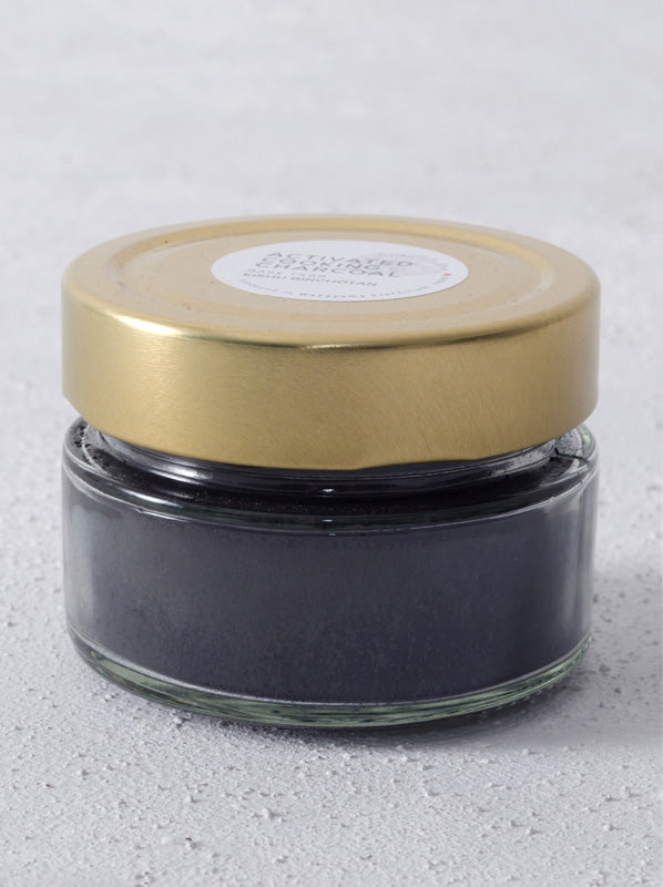 Kishu Binchōtan Activated Charcoal Powder - WAZA