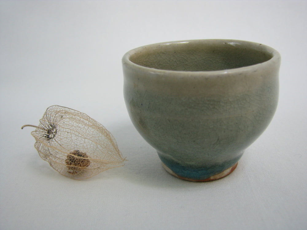 ISSEITOUEN wood-fired sake cups