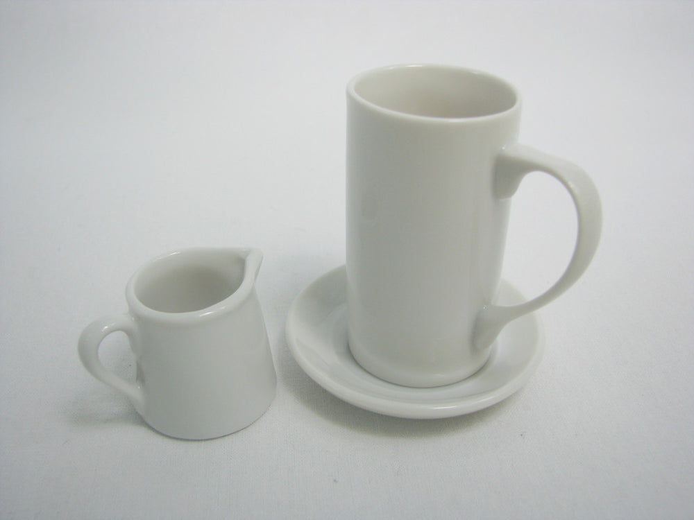 Schmid 1959 Demitasse Cups and Creamers (Set of 4)