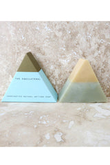 Bar Soap Brooklyn  Equilateral Soap Blue and Gold