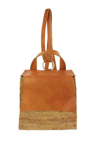 Fini Rattan Backpack