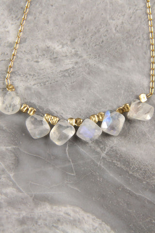 Handmade Moonstone Necklace