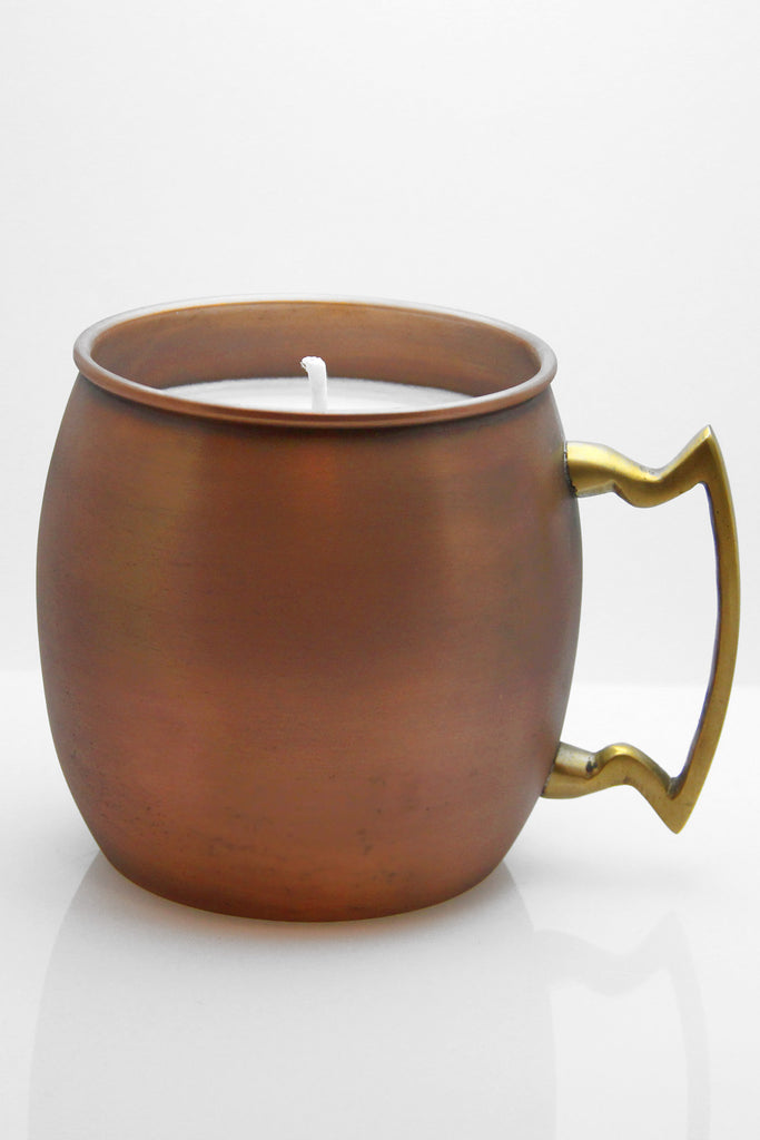 Beginning Moscow Mule Candle
