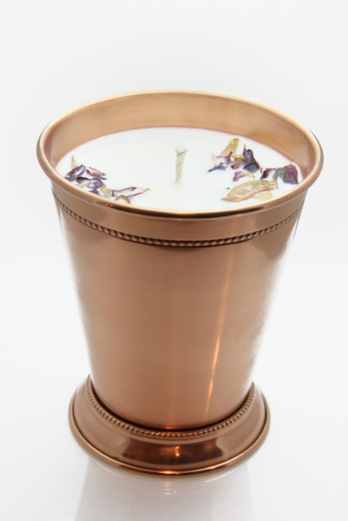 Prosperity Copper Julep Candle