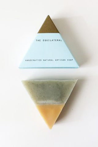 The Equilateral Soap: Blue Gold