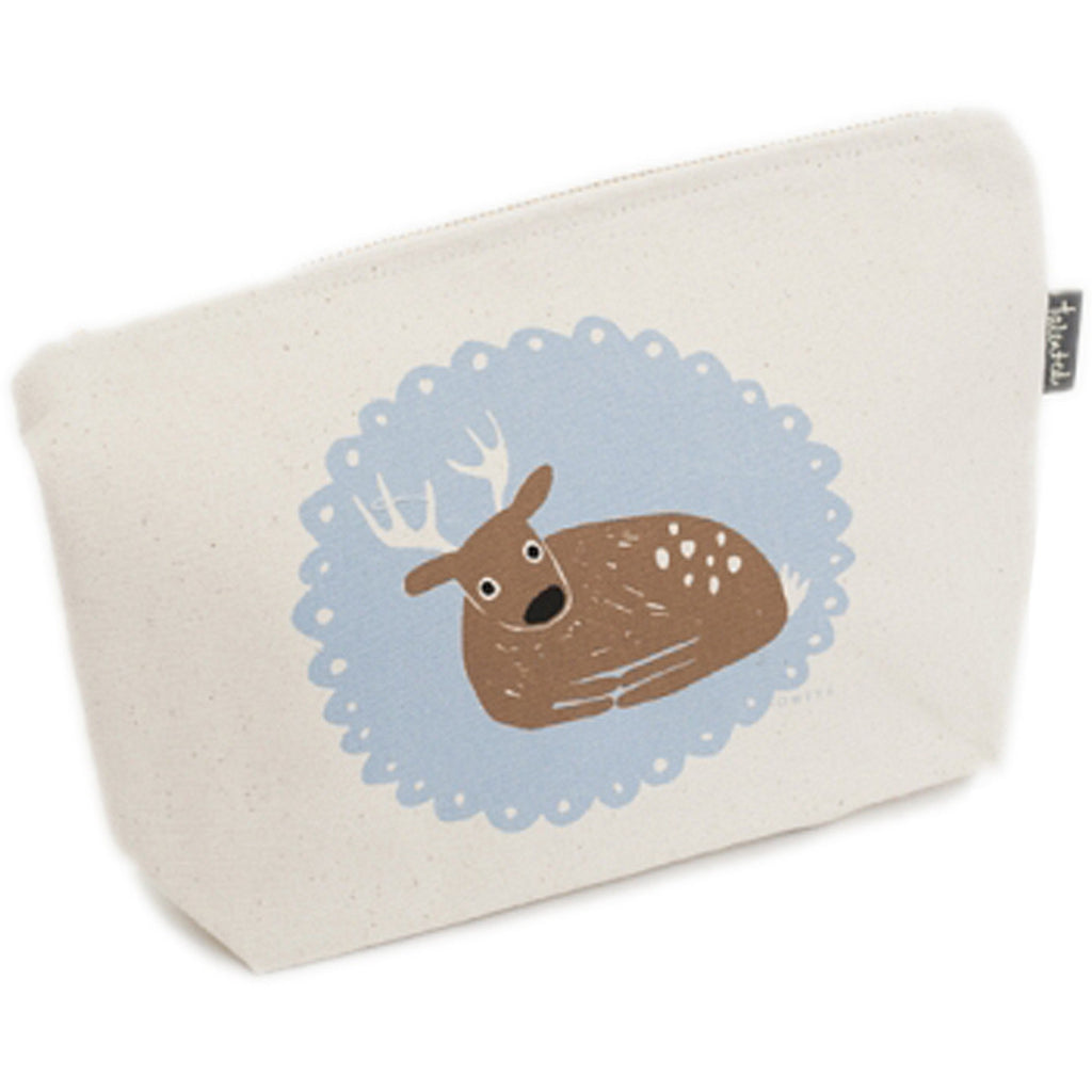 Mr. Deer Zip Purse