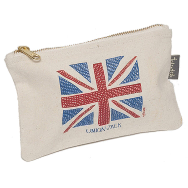 Union Jack Mini Zip Purse