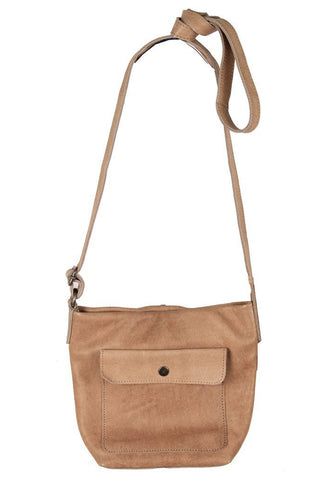 Hoffman Tan Leather Bag