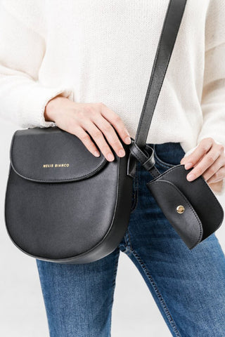 Piper Black Crossbody
