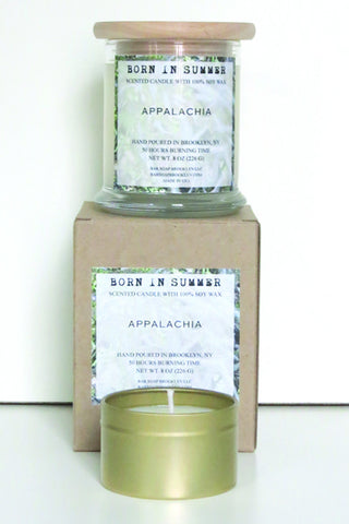 Born in Summer Candle - Appalachia