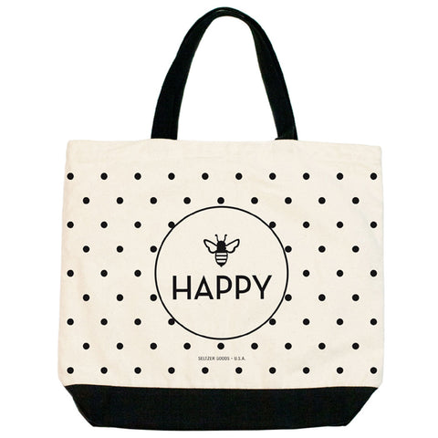Bee Happy Tote