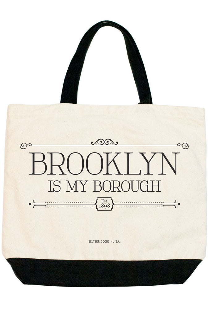 Brooklyn is My Borough Tote