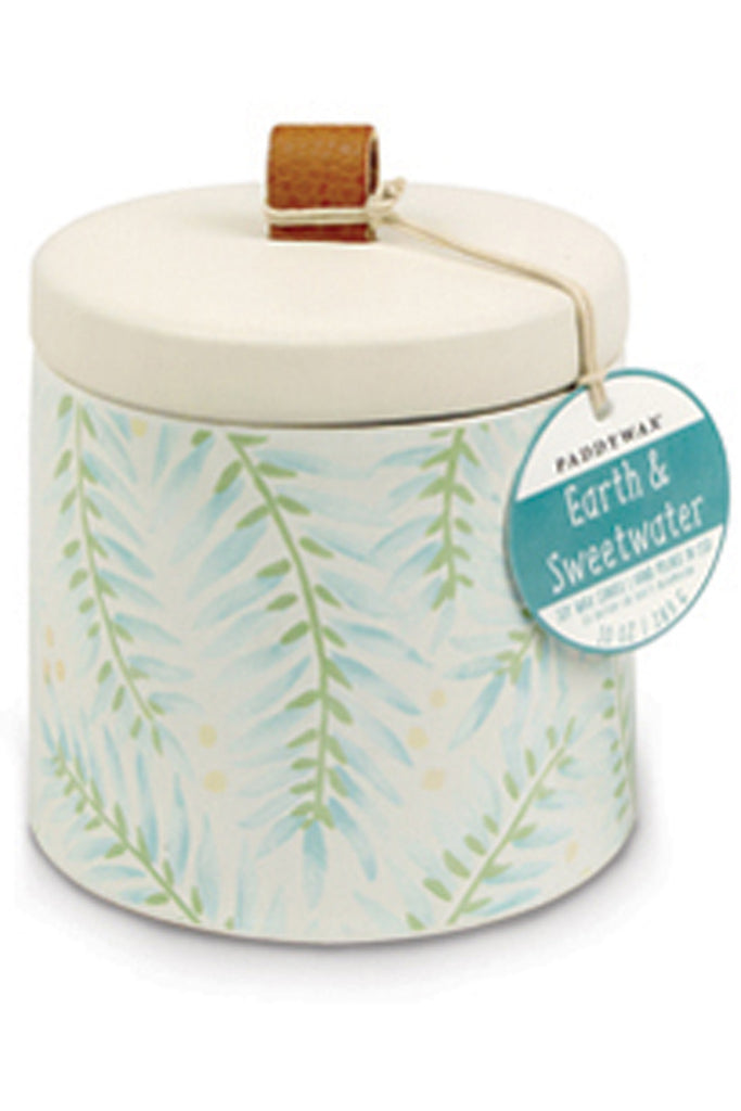 PaddyWax candle Earth & Sweetwater 10oz