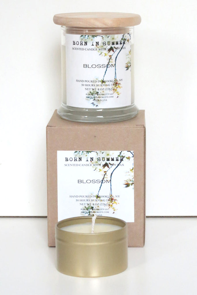 Born in Summer Candle - Blossom