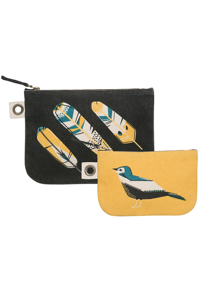 Chirp Zip Pouch