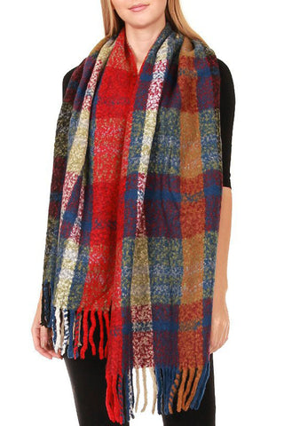 Victory Plaid Scarf