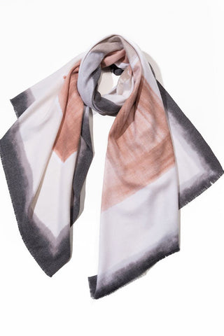 Cashmere Blend Watercolor Scarf