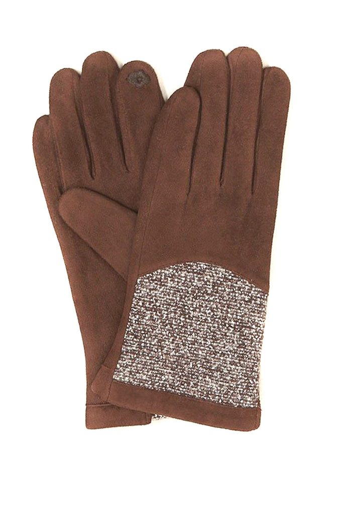 Soft Brown Gloves