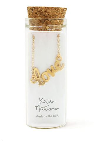 Love Necklace by Kris Nations