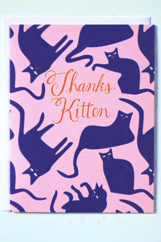 Thanks Kitten Card