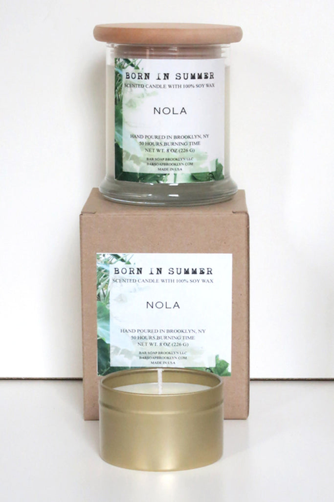 Born in Summer Candle - NOLA