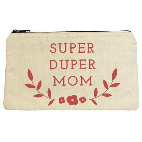 Super Mom Zip Pouch