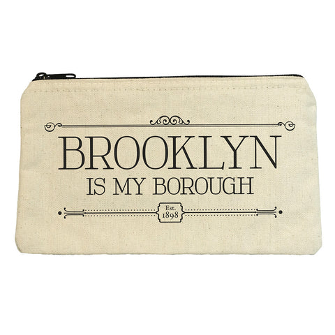 Brooklyn is My Borough Zip Pouch
