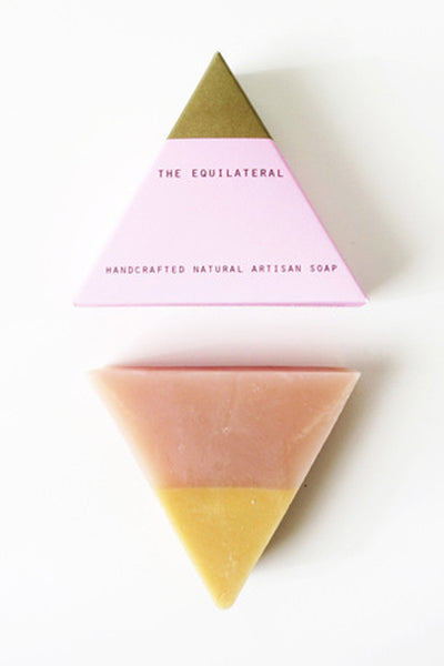 The Equilateral Soap: Pink Gold