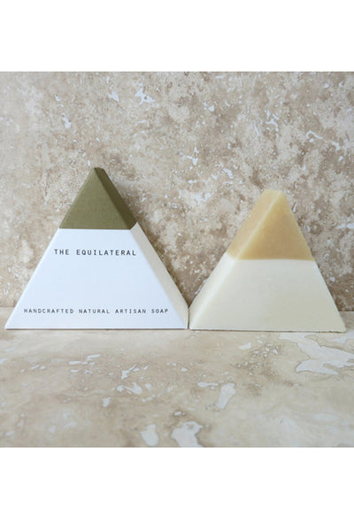 The Equilateral Soap: White Gold