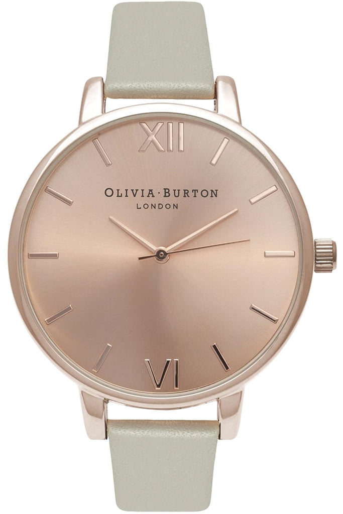 Big Dial Gray and Rose Gold OB16BD98