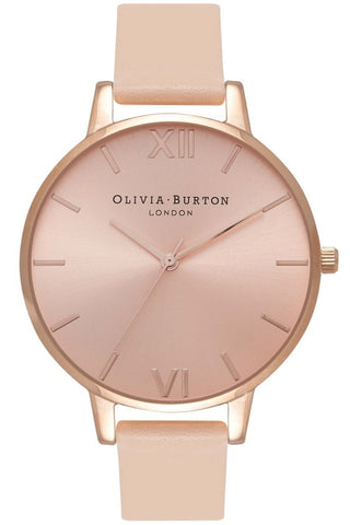 Big Dial Nude Peach and Rose Gold OB16BD94