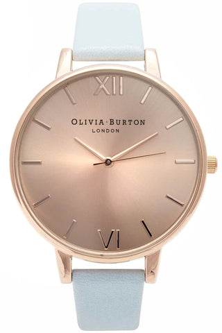 Big Dial Powder Blue and Rose Gold Code: OB14BD20