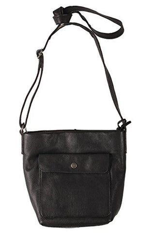 Hoffman Black Leather Bag