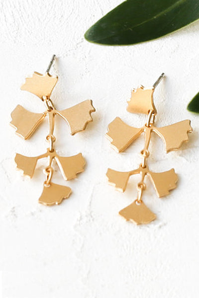 Tropical Fern Earrings