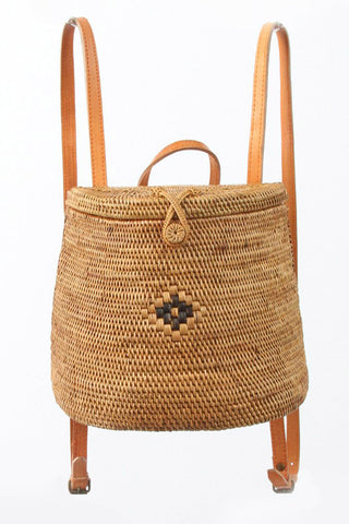 Langi Rattan Backpack