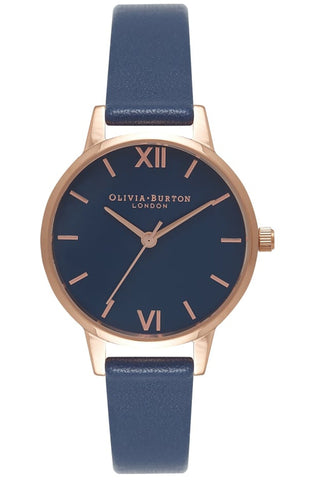 Small Dial, Navy Dial and Rose Gold