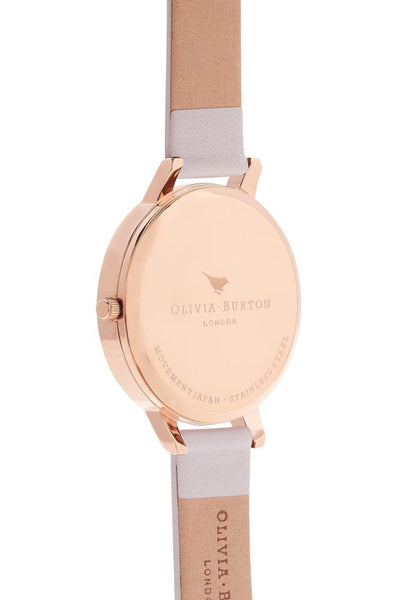 Big Dial Blush and Rose Gold Watch