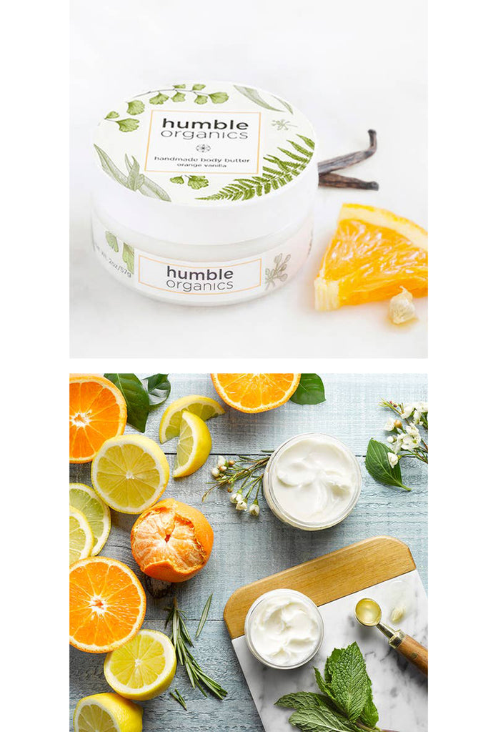 Orange Vanilla Body Butter 2oz.