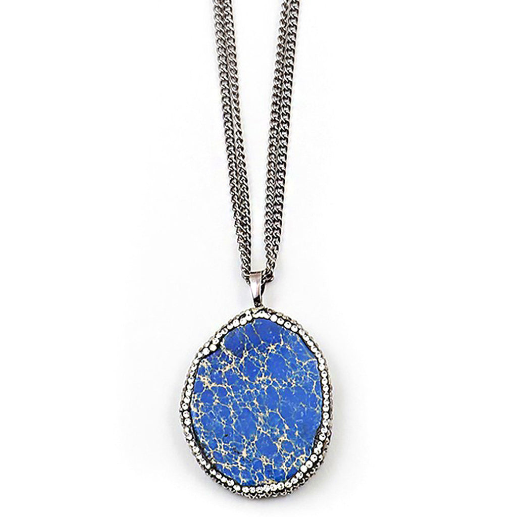 Blue Ocean Necklace
