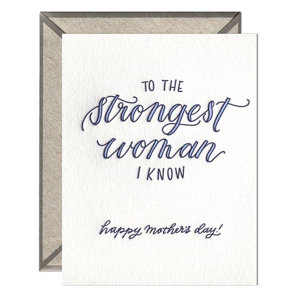 Strongest Woman Card