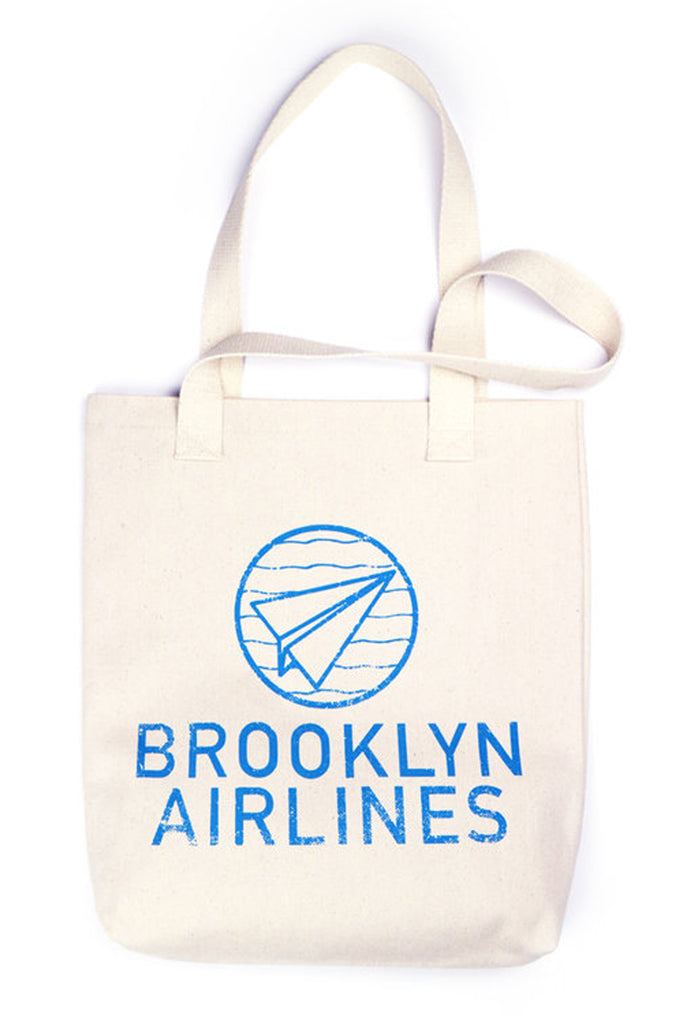 Brooklyn Airlines Tote Bag